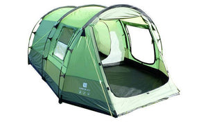 The Abberley 2 Berth Tent Tents Three Tone Green - Festival + touring camping tent