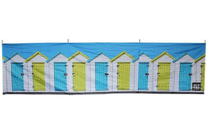 Beach Huts 4 Pole Compact Windbreak (Steel Poles) Windbreaks Camping & Beach Windbreak