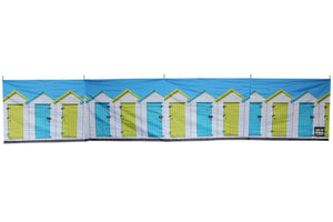 Beach Huts 5 Pole Windbreak (Wooden Poles) Windbreaks Camping & Beach Windbreak