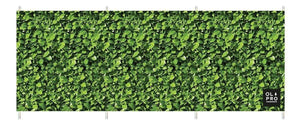Laurel Hedge 4 Pole Compact Windbreak (Steel Poles) Windbreaks Camping & Beach Windbreak
