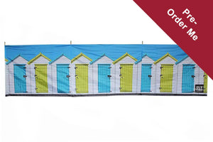 PRE-ORDER Beach Huts 4 Pole Compact Windbreak (Steel Poles) - Back in stock March Windbreaks Camping & Beach Windbreak