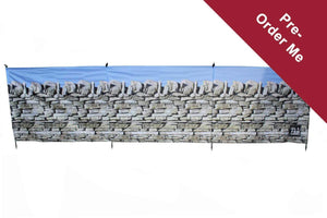 PRE-ORDER Stone Wall 4 Pole Compact Windbreak (Steel Poles) - Back in stock March Windbreaks Camping & Beach Windbreak