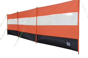 Orange Compact Vision Windbreak Windbreaks Orange & Black