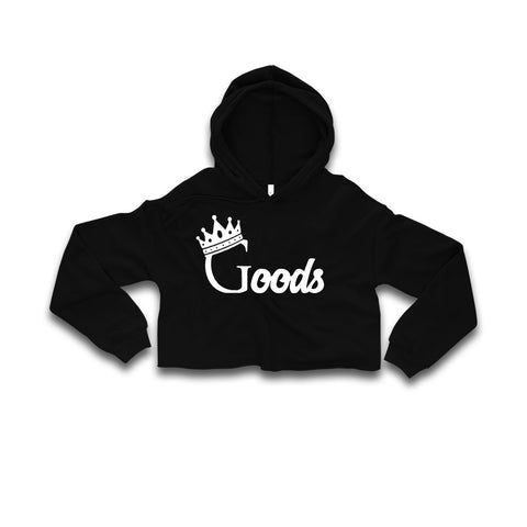 "G Series Womens ""Goods"" Crop Top W/Hoodie"