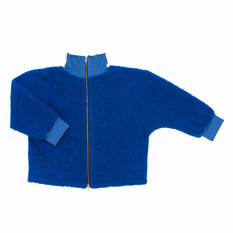 THEO Zip-up Jacket Blue