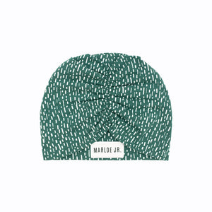 BODIL Frilly Beanie Green