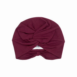 DORIS Turban Burgundy
