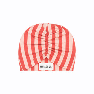 SIGGE Frilly Beanie Rust/Pink