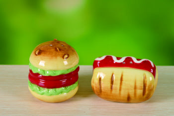 Hamburger/Hotdog S/P Set