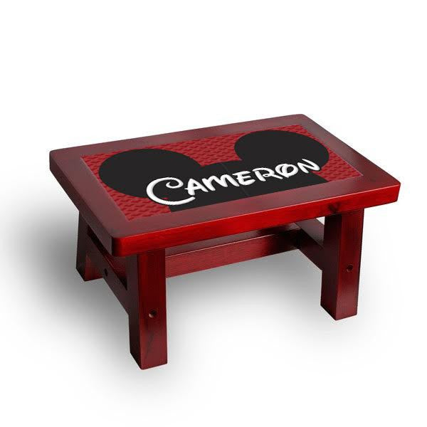 Toddler Step Stools Custom Personalized  sc 1 st  Bella Casa : red step stool - islam-shia.org