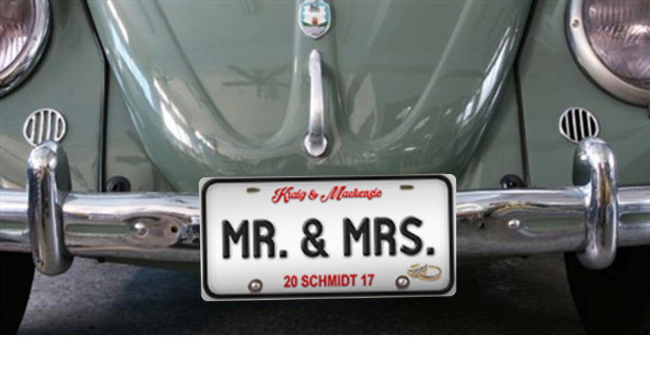 New Mr. & Mrs. Plates!