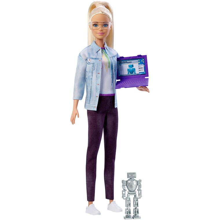 Barbie Robotics Engineering-Blond (FRM09) Butterfly7.com