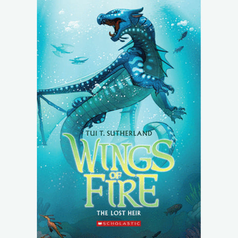 Butterfly 7: Wings of Fire: The Lost Heir (Book 2)