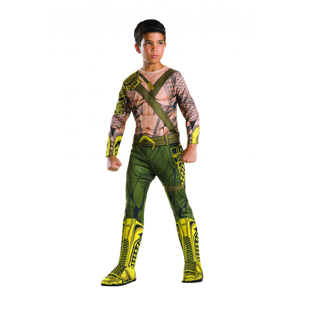 Kids Role Play Costume-Aquaman  sc 1 st  Butterfly 7 & Kids Halloween DC Comics Super Hero Costume -Aquaman - Butterfly 7 ...