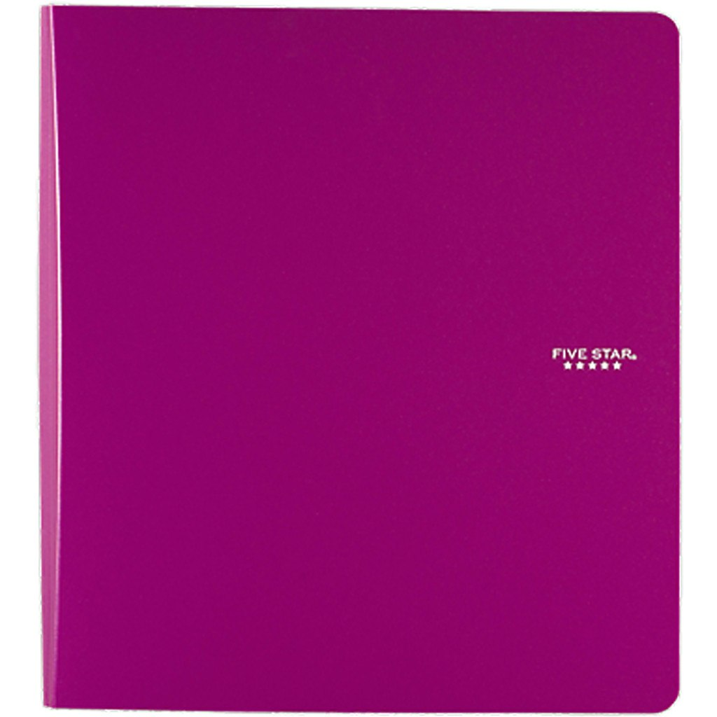 mead five star 1 plastic binders 29182 butterfly 7 toy boutique