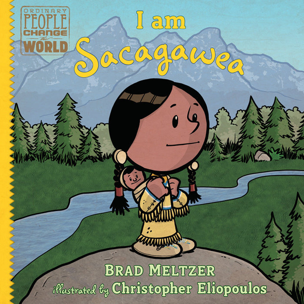 Butterfly 7: Ordinary People Change the World: I Am Sacagawea (Hardcover) 9780525428534