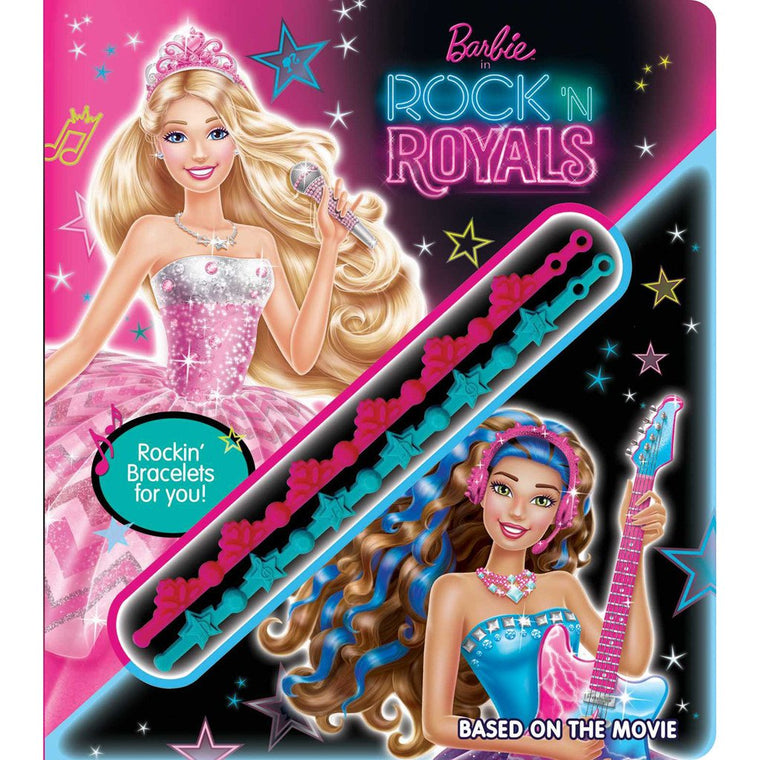 Barbie Rock 'n Royals with Bracelets (Board Book)