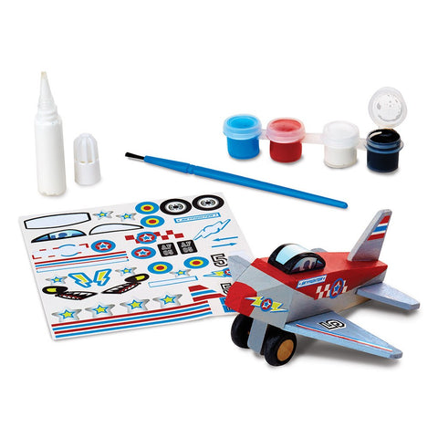 At Butterfly: Melissa & Doug DYO Wooden Plane (#9518) 2