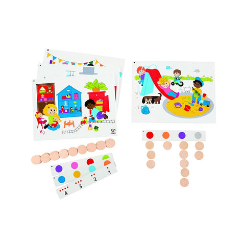 Butterfly 7: Hape Find and Count Colors