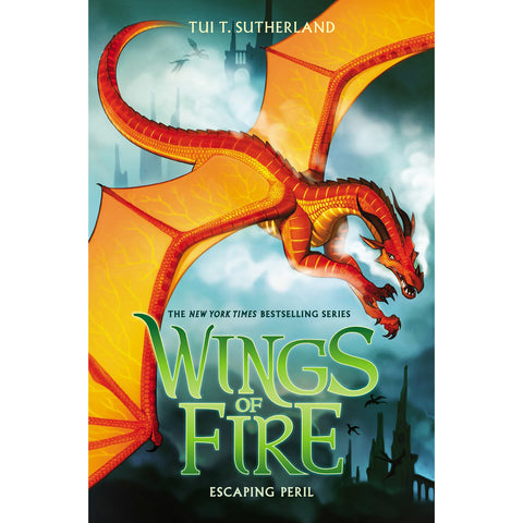 Wings of Fire #8: Escaping Peril (Hardcover)