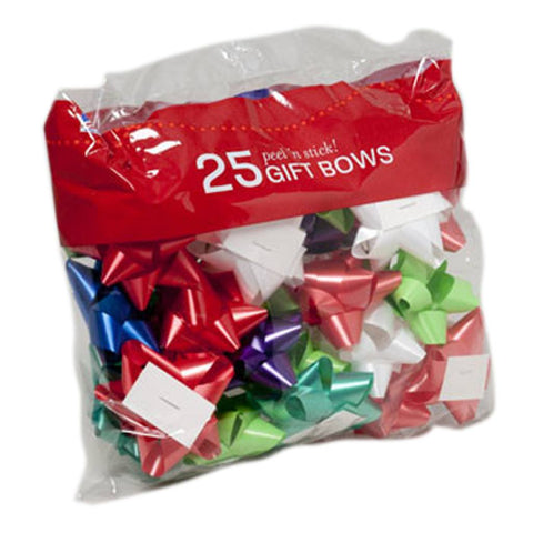 At Butterfly 7: Peel-N-Stick Bows 25 Ct.