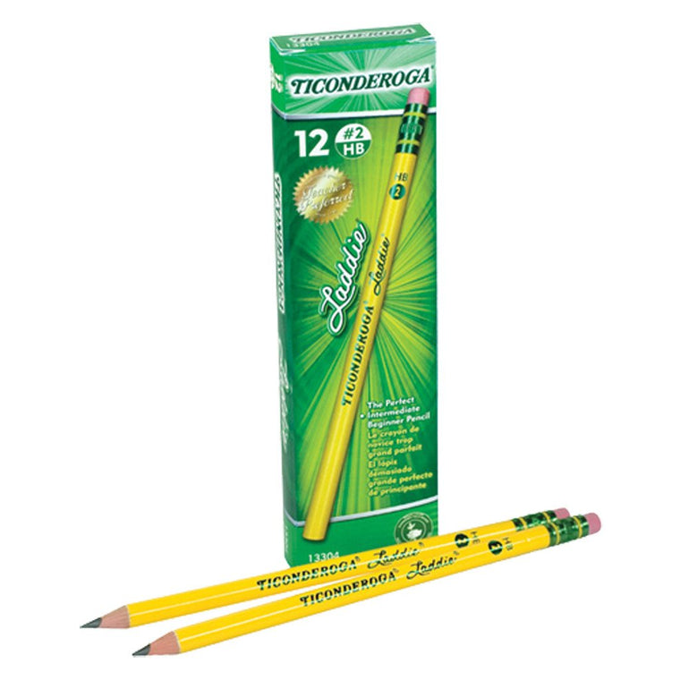 At butterfly7.com: Ticonderoga Laddie Pencil 12 Ct.
