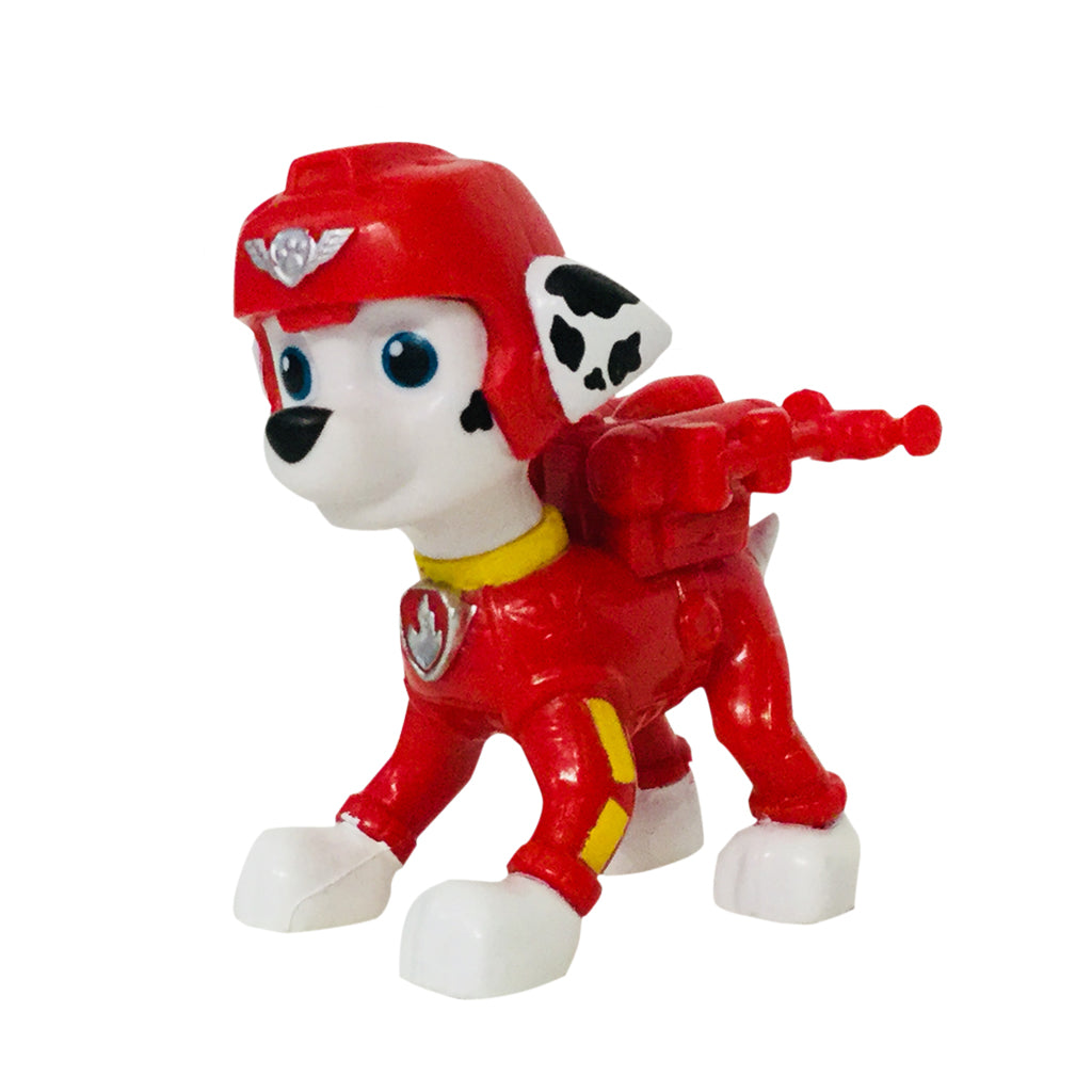 Butterfly 7: Paw Patrol Pup Buddies Miniature Figurines-Marshall (#6023934)