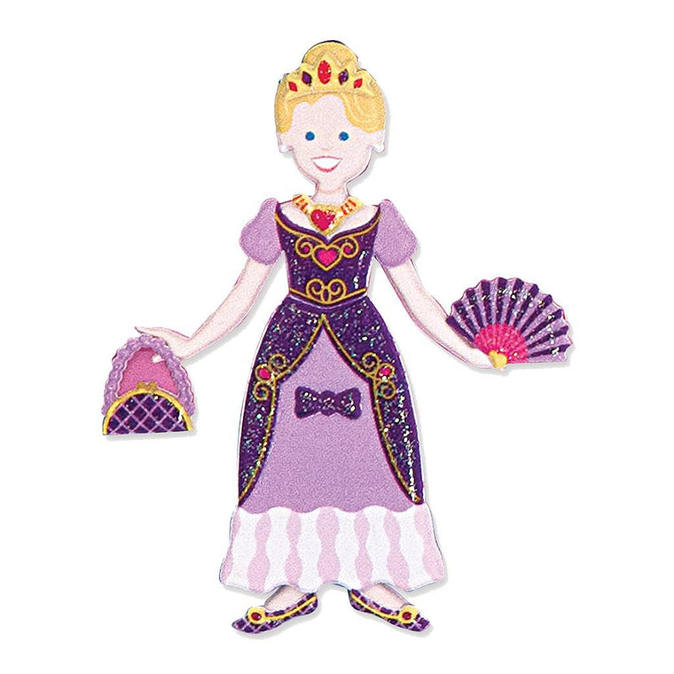 Butterfly 7: Melissa & Doug Puffy Sticker Play Set-Princess (#9100)