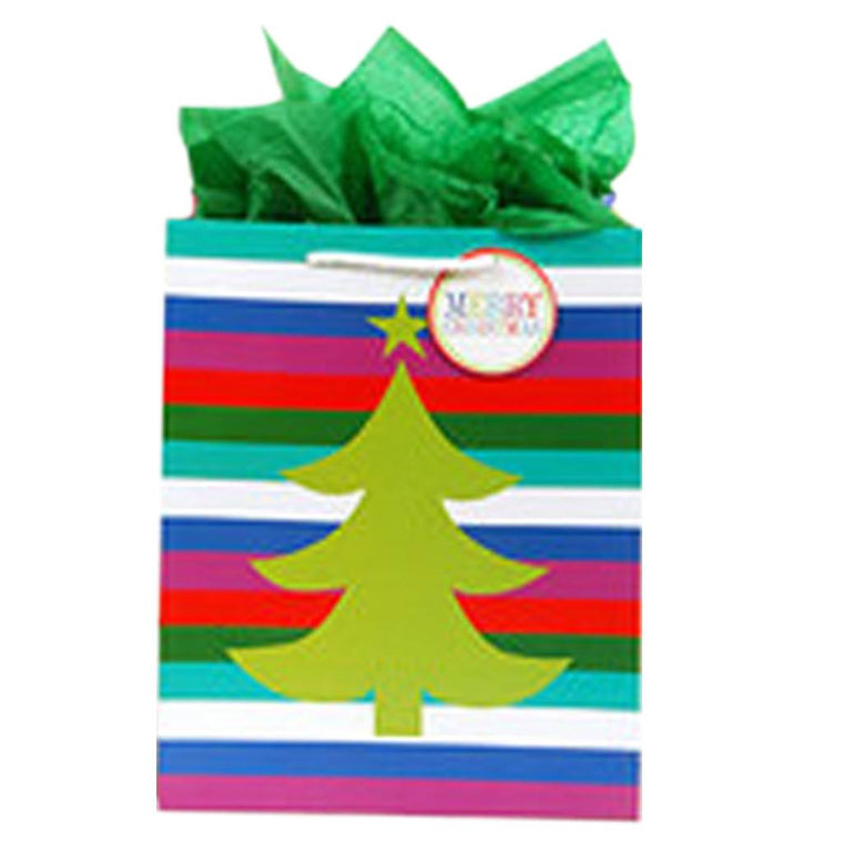 At Butterfly 7: Jumbo Stripe Tree Gift Bag