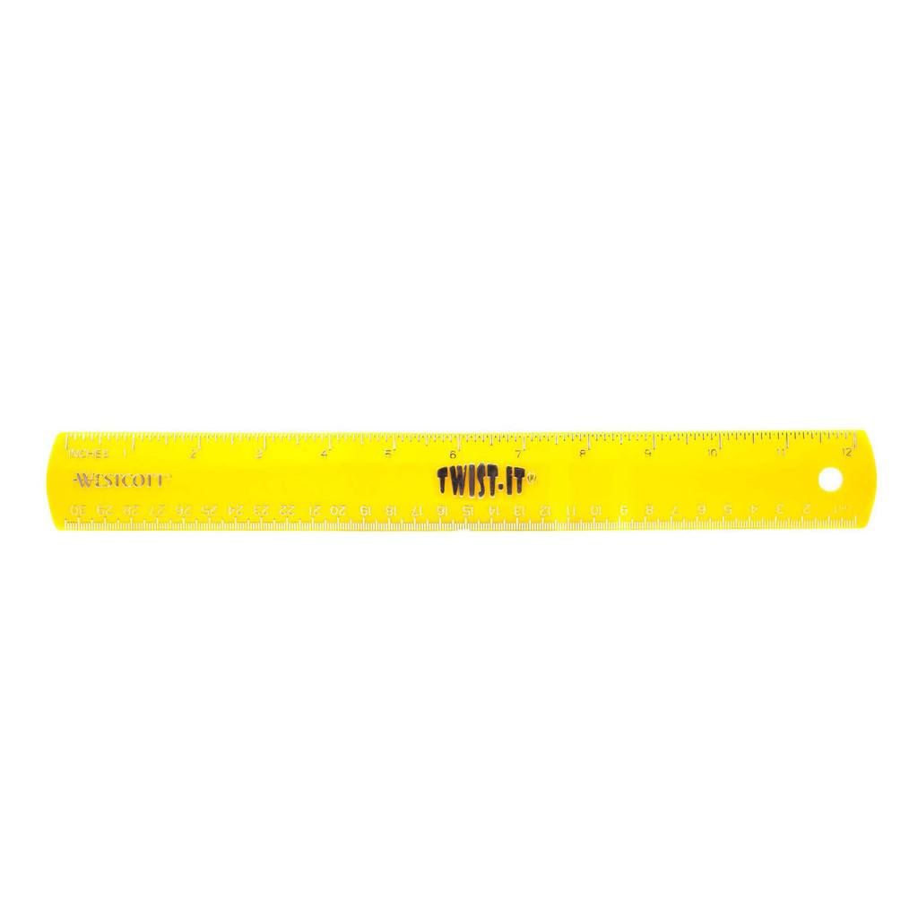 Westcott Twist it School Ruler (#14640)