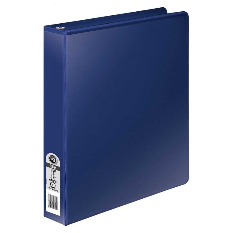 "Wilson Jones 362 Basic Round Ring View Binders 1"" (W362-14)"
