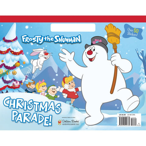 Frosty The Snowman: Christmas Parade!  (Paperback Coloring Book)