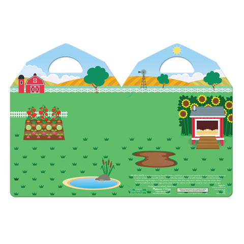 Butterfly 7: Melissa & Doug Puffy Sticker Play Set-On the Farm (#9408) 4