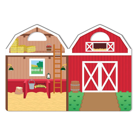 Butterfly 7: Melissa & Doug Puffy Sticker Play Set-On the Farm (#9408) 3