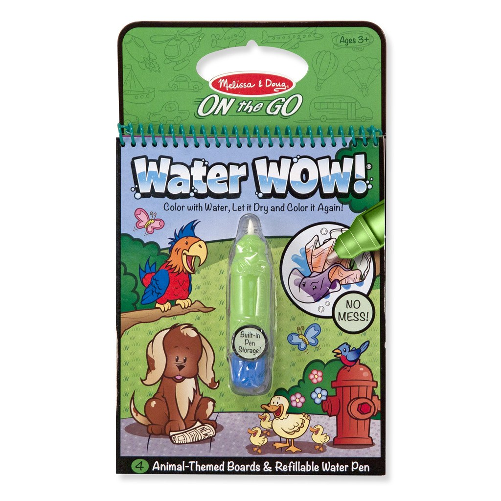 At Butterfly 7: Melissa & Doug Water Wow Animals