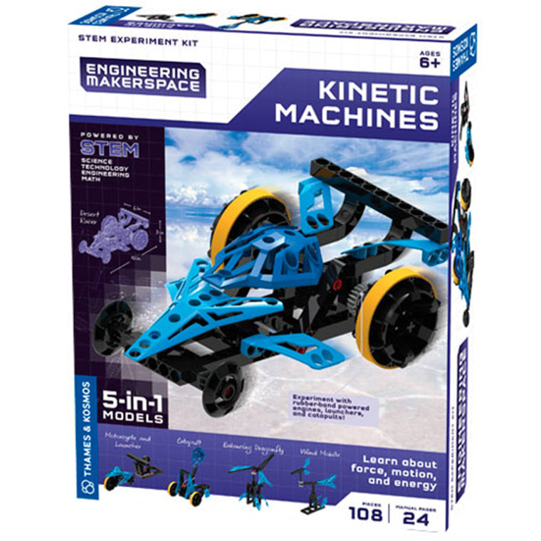 butterfly7.com Thames & Kosmos Engineering Makerspace Kinetic Machine 5-in-1 Models