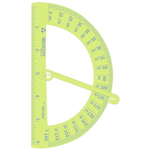 Westcott Kleen Earth Protractor with Arm (#14976)