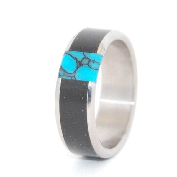 Minter Richter Titanium Rings Black Wedding Bands