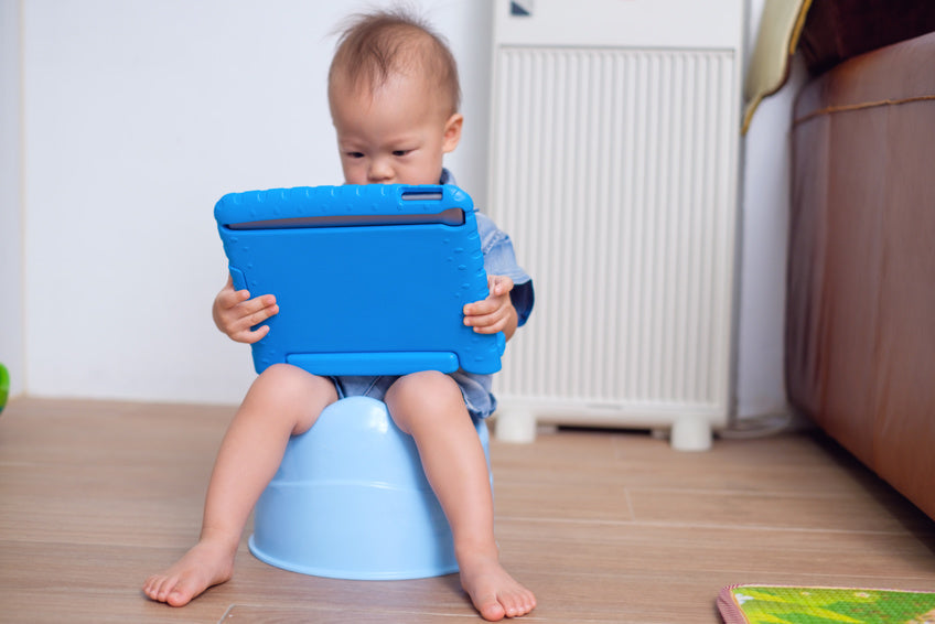 Tablets and Potty Training Aren't the Perfect Match