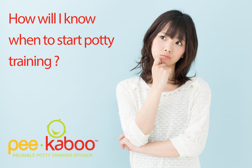 How Will I Know When To Start Potty Training?