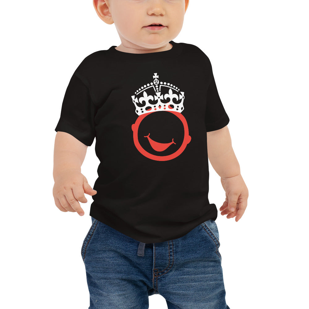 "Royal Baby Cotton Jersey T  ""Ascend The Throne"""