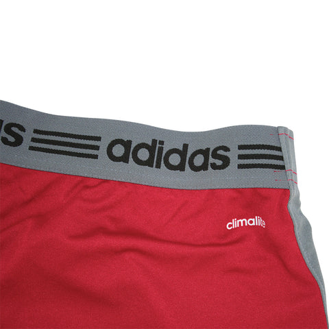 Adidas Brand Wisconsin Badgers Training Gym Shorts