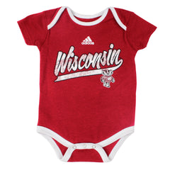 Shop Wisconsin Boys Snap-tee - Adidas