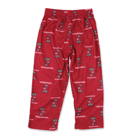 Shop Wisconsin Kids Printed Pants-Red