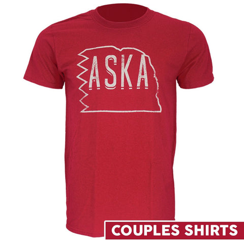 ASKA Couple Shirt by RZR - Red - SS