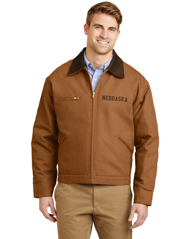 Nebraska Ultra Tough Duck Canvas Jacket by RZR - Brown - LS