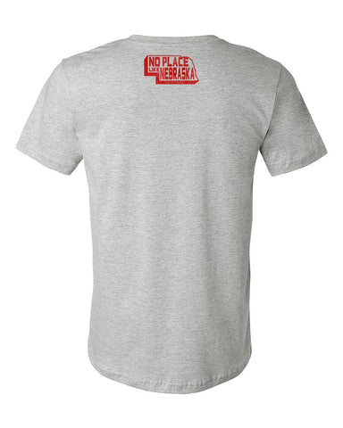 No Place Like Nebraska Tee - Grey - SS