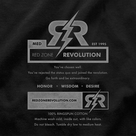 Nebraska MotorCycle Club Tee by RZR - SS - Black