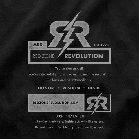 Men's Tribal Ultra-Performance Tee by RZR - Black - LS