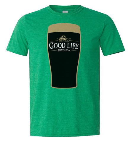 Nebraska is Good For You Tee by RZR - Green - SS